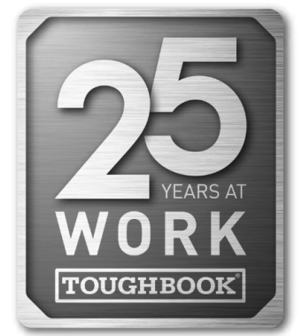25 Years at Work TOUGHBOOK